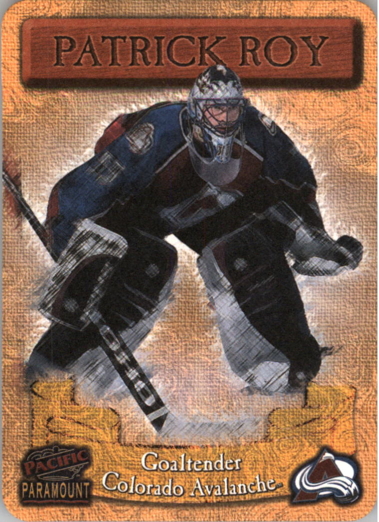 1997-98 Paramount Photoengravings #6 Patrick Roy