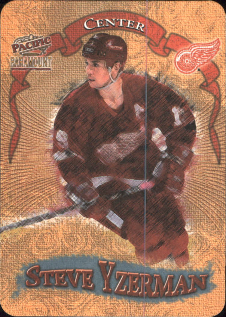 1997-98 Paramount Photoengravings #10 Steve Yzerman