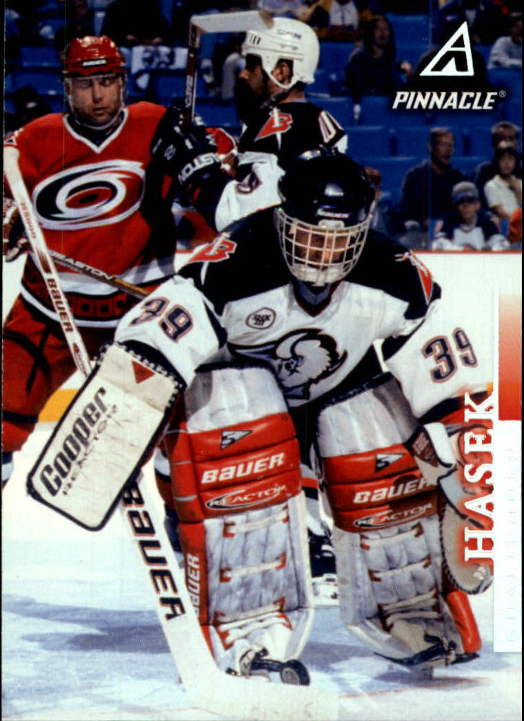 1997-98 Pinnacle #28 Dominik Hasek