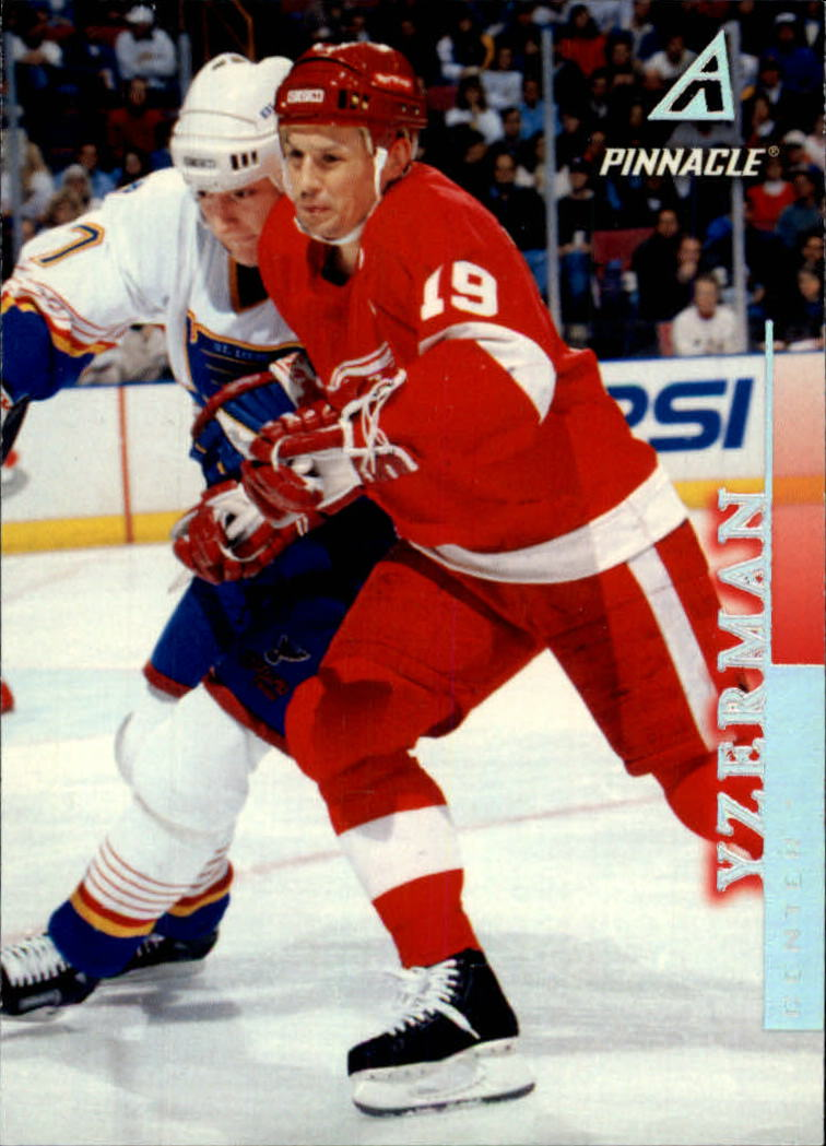 1997-98 Pinnacle #71 Steve Yzerman