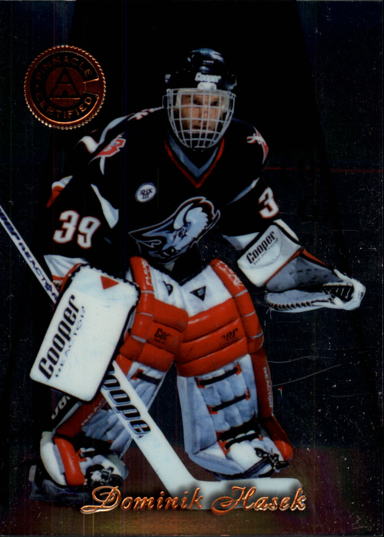 1997-98 Pinnacle Certified #1 Dominik Hasek