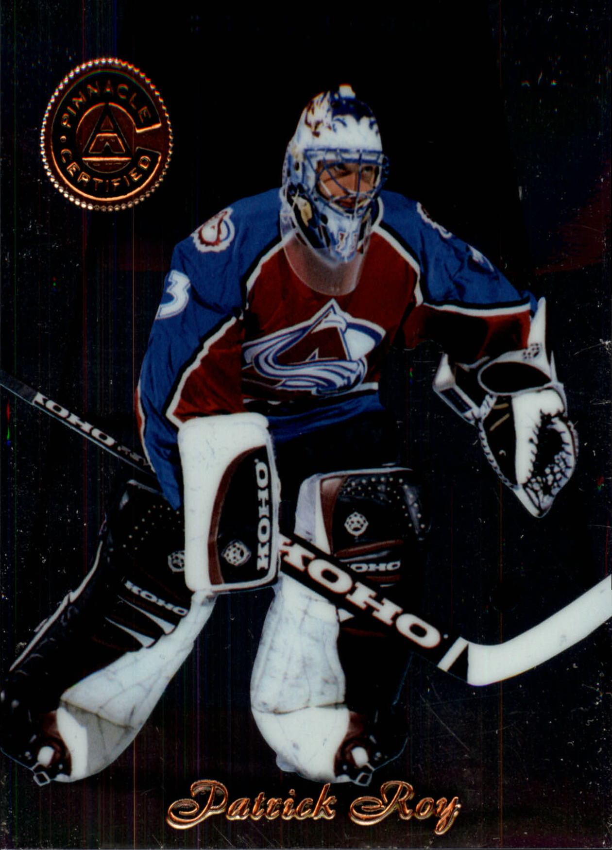 1997-98 Pinnacle Certified #2 Patrick Roy