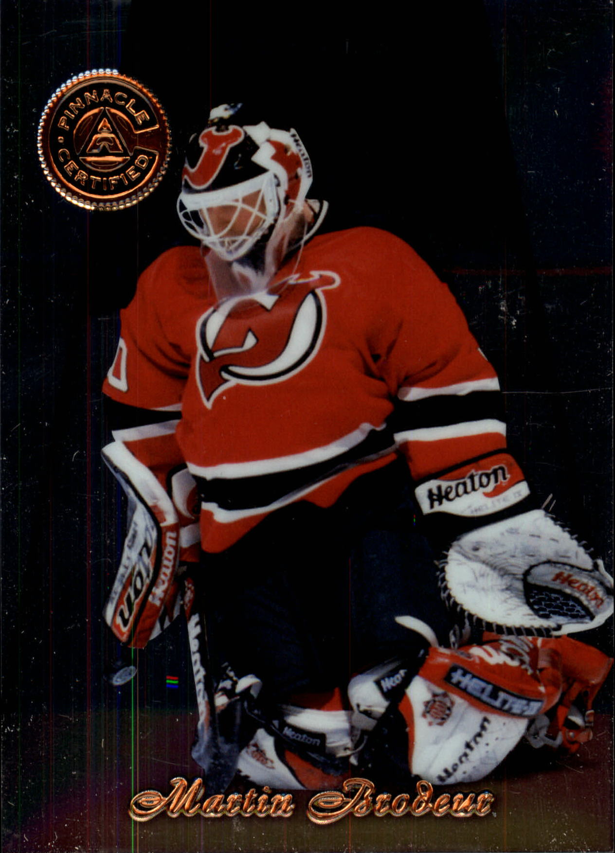 1997-98 Pinnacle Certified #3 Martin Brodeur