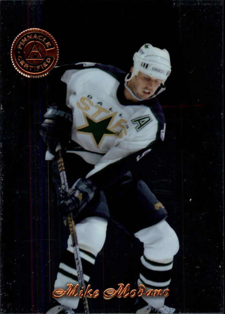 1997-98 Pinnacle Certified #33 Mike Modano