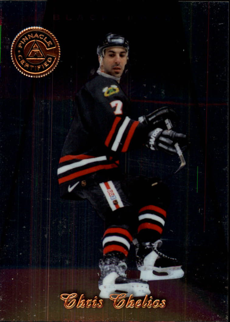 1997-98 Pinnacle Certified #74 Chris Chelios