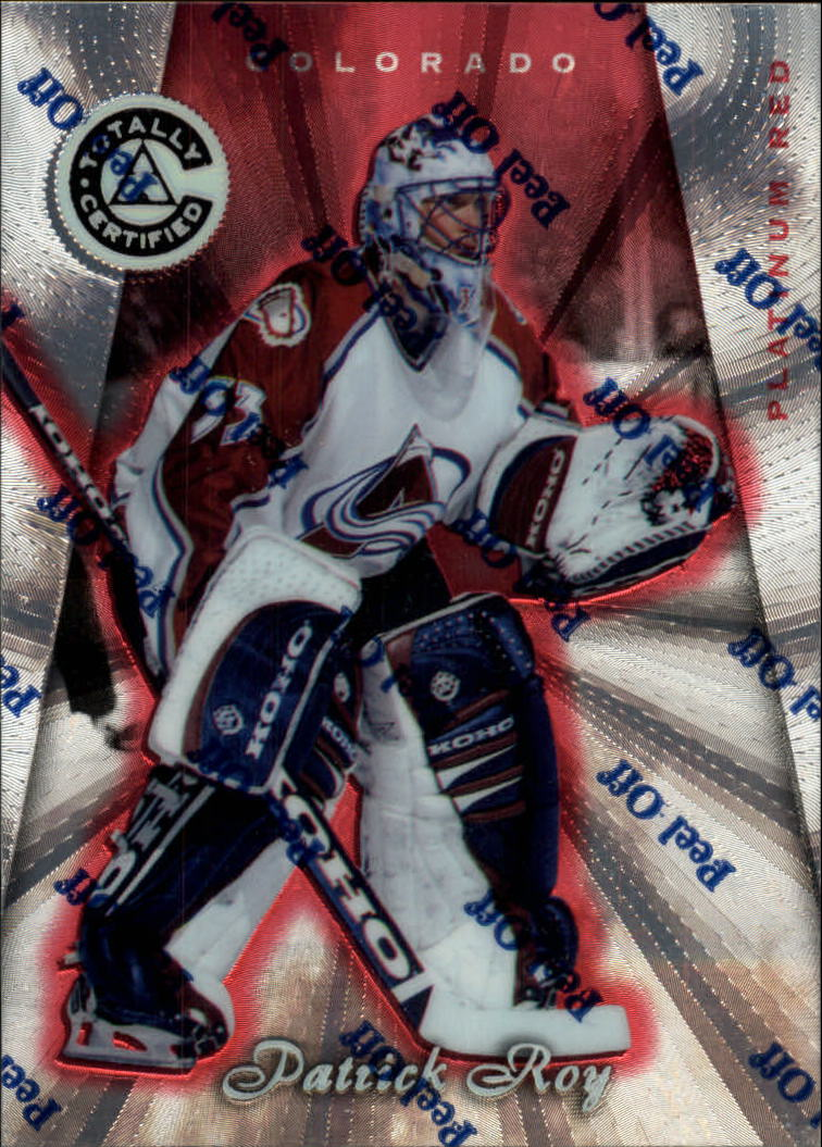 1997-98 Pinnacle Totally Certified Platinum Red #2 Patrick Roy