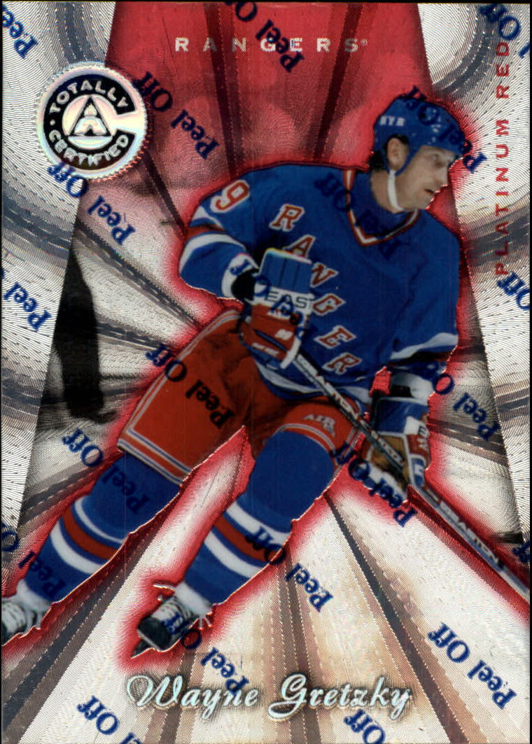 1997-98 Pinnacle Totally Certified Platinum Red #100 Wayne Gretzky