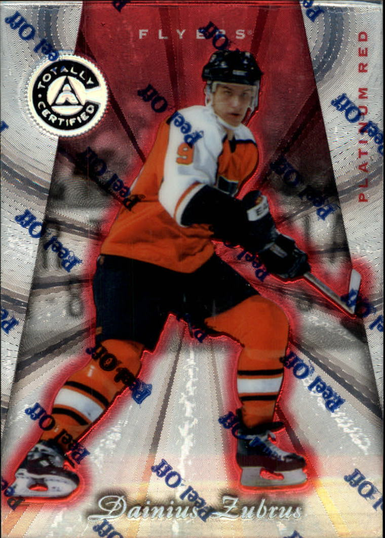 1997-98 Pinnacle Totally Certified Platinum Red #116 Dainius Zubrus