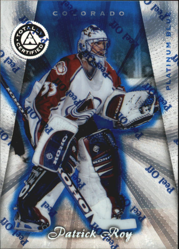 1997-98 Pinnacle Totally Certified Platinum Blue #2 Patrick Roy