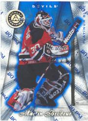 1997-98 Pinnacle Totally Certified Platinum Blue #3 Martin Brodeur