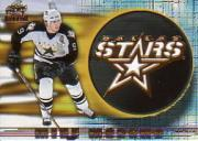 1997-98 Revolution Team Checklist Laser Cuts #8 Mike Modano