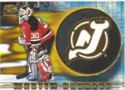 1997-98 Revolution Team Checklist Laser Cuts #14 Martin Brodeur
