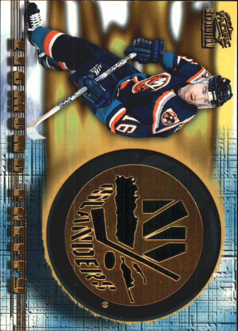 1997-98 Revolution Team Checklist Laser Cuts #15 Zigmund Palffy