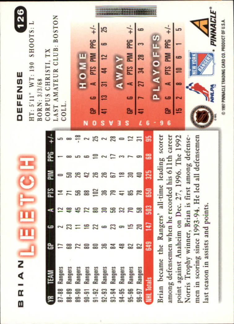 1997-98-Score-Hockey-Cards-Pick-From-List thumbnail 99