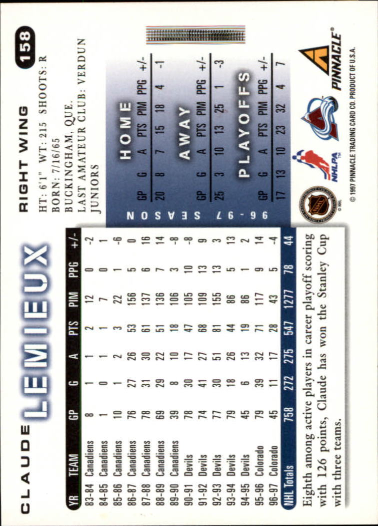1997-98-Score-Hockey-Cards-Pick-From-List thumbnail 147