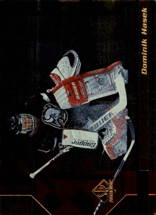 1997-98 SP Authentic #14 Dominik Hasek