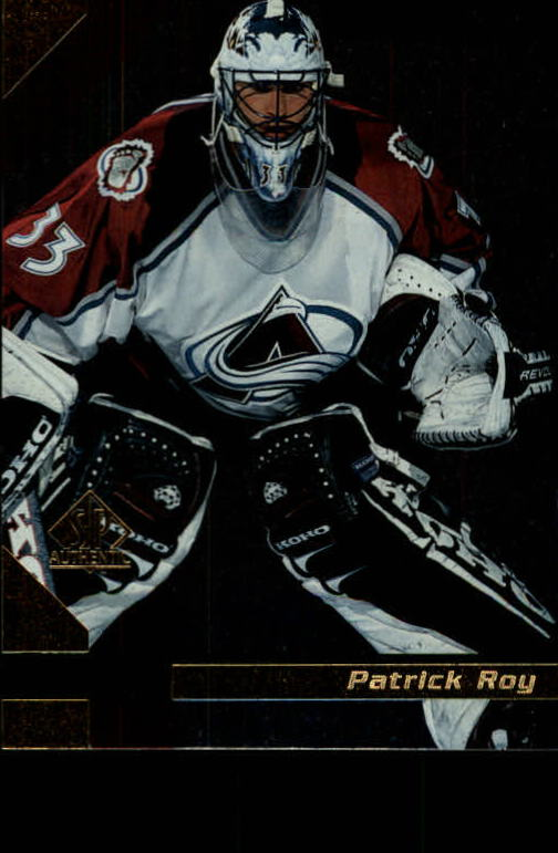 1997-98 SP Authentic #37 Patrick Roy