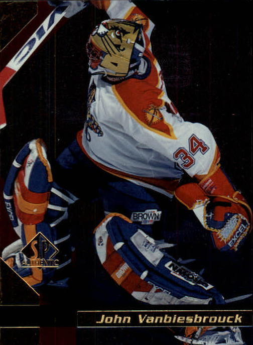 1997-98 SP Authentic #69 John Vanbiesbrouck