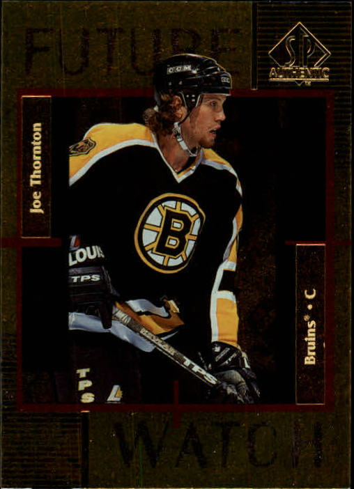 1997-98 SP Authentic #171 Joe Thornton