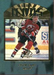 1997-98 SP Authentic #185 Patrik Elias RC