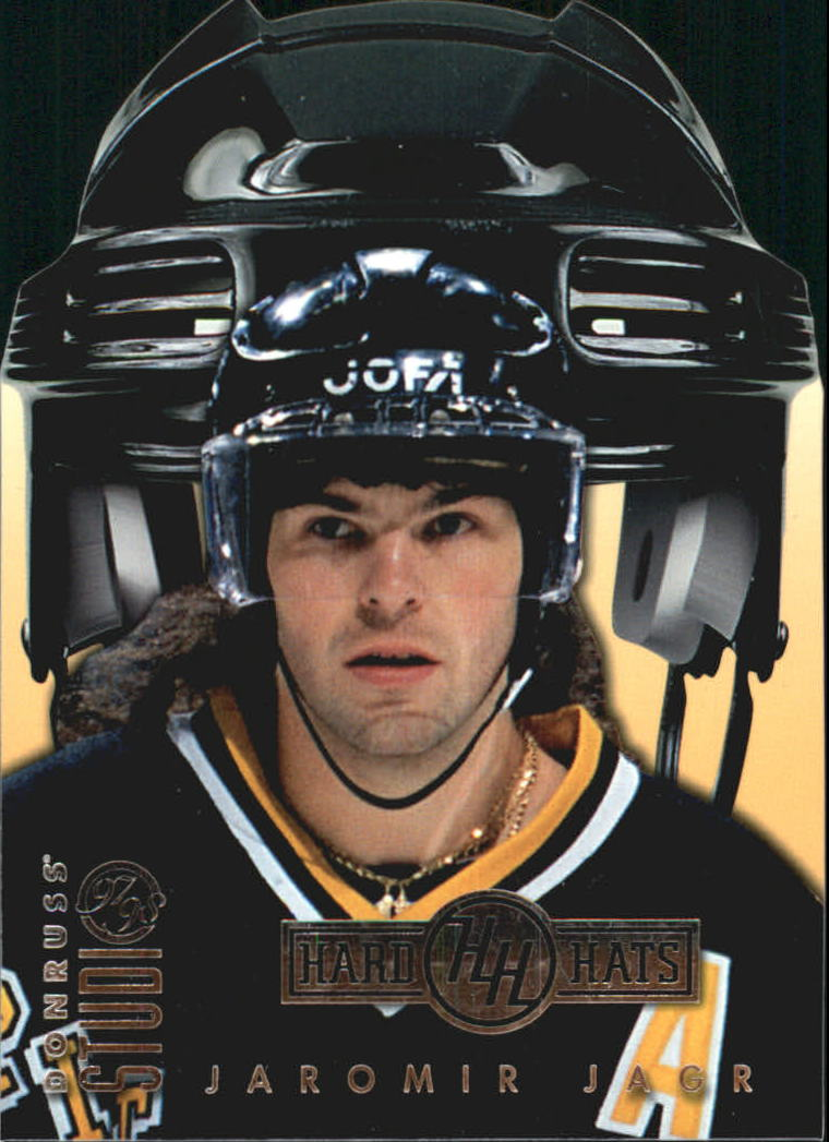 1997-98 Studio Hard Hats #19 Jaromir Jagr