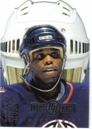 1997-98 Studio Hard Hats #22 Mike Grier