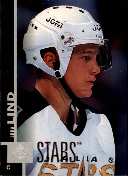 1997-98 Upper Deck #261 Juha Lind RC