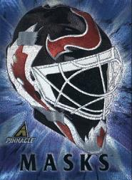 1997-98 Pinnacle Masks Jumbos #3 Martin Brodeur