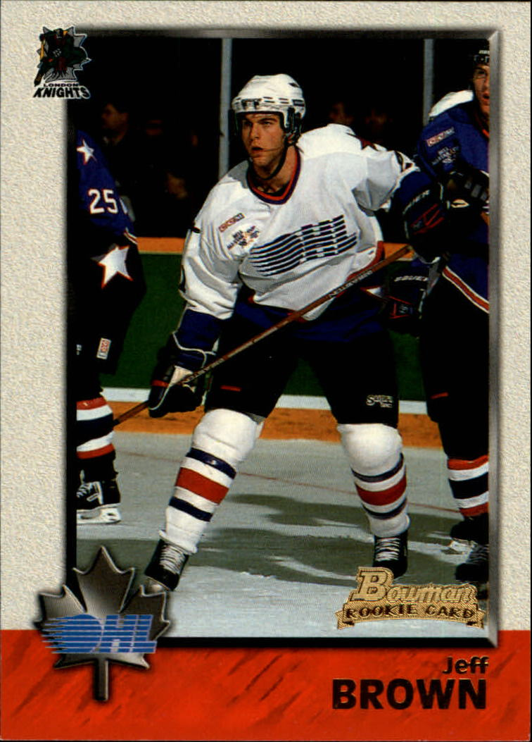 1998 Bowman CHL #4 Jeff Brown