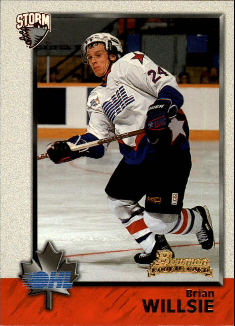 1998 Bowman CHL #8 Brian Willsie