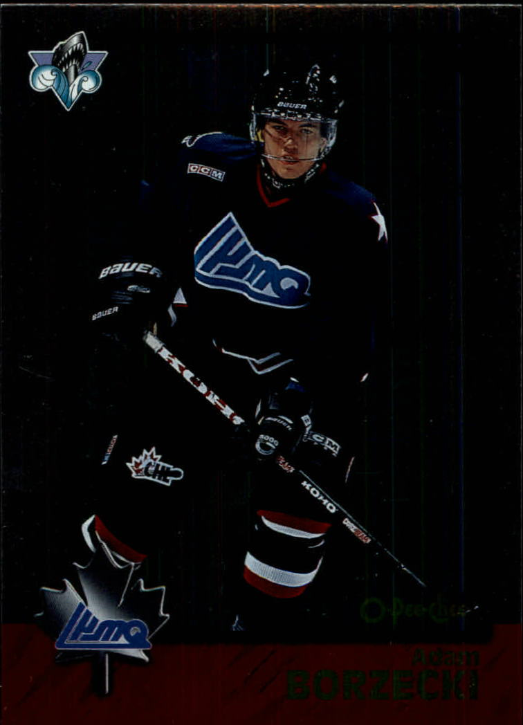 1998 Bowman CHL OPC International #120 Adam Borzecki