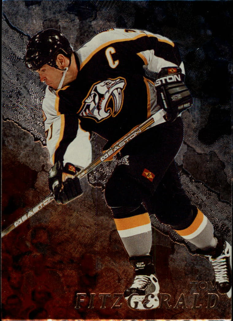 1998-99 Be A Player #73 Tom Fitzgerald
