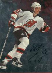 1998-99 Be A Player Autographs #81 Patrik Elias