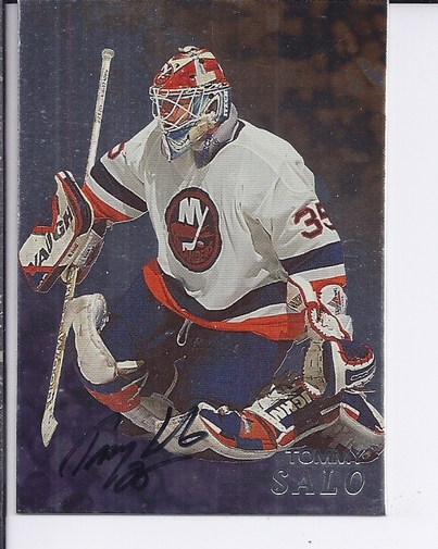 1998-99 Be A Player Autographs #83 Tommy Salo
