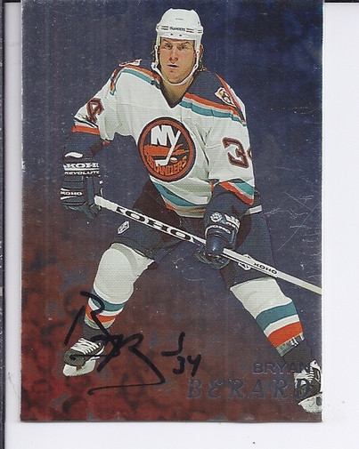 1998-99 Be A Player Autographs #85 Bryan Berard