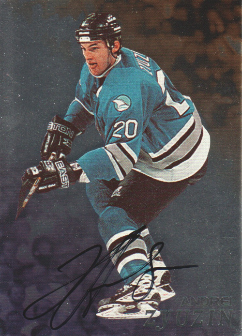 1998-99 Be A Player Autographs #116 Andrei Zyuzin