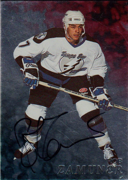 1998-99 Be A Player Autographs #132 Rob Zamuner