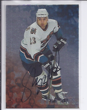 1998-99 Be A Player Autographs #145 Brian Bellows