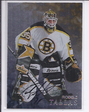 1998-99 Be A Player Autographs #158 Rob Tallas