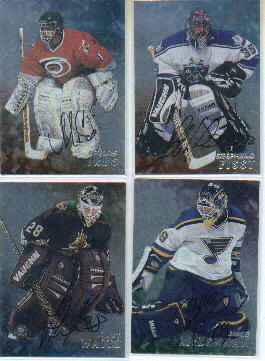 1998-99 Be A Player Autographs #172 Arturs Irbe