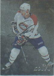1998-99 Be A Player Autographs #218 Saku Koivu