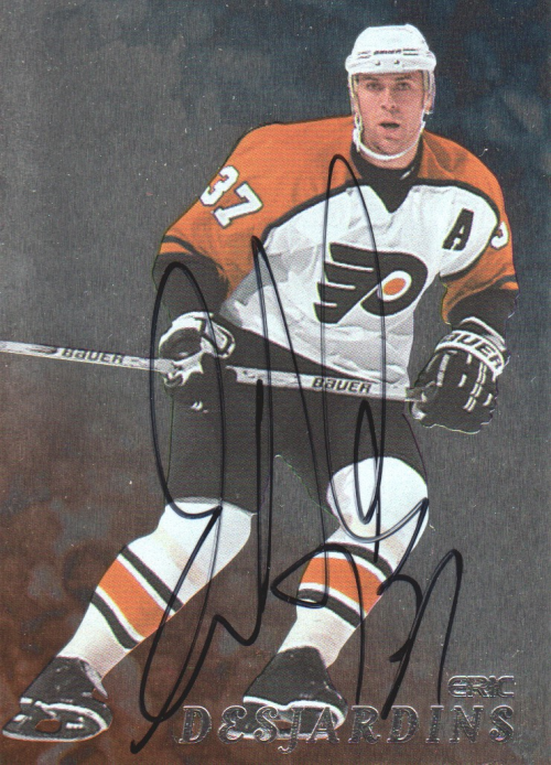 1998-99 Be A Player Autographs #253 Eric Desjardins