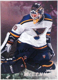 1998-99 Be A Player Autographs #273 Jamie McLennan