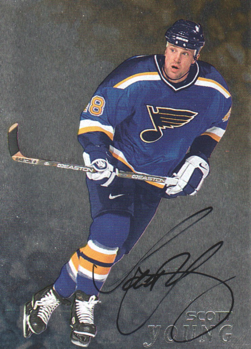 1998-99 Be A Player Autographs #278 Scott Young