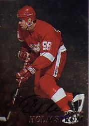 1998-99 Be A Player Autographs Gold #196 Tomas Holmstrom