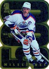1998-99 Be A Player All-Star Milestones #M1 Wayne Gretzky