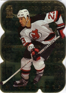 1998-99 Be A Player All-Star Milestones #M5 Dave Andreychuk