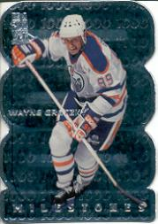 1998-99 Be A Player All-Star Milestones #M7 Wayne Gretzky