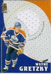 1998-99 Be A Player Playoff Game Used Jerseys #G1 Wayne Gretzky
