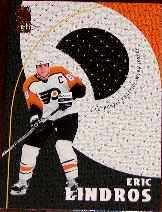 1998-99 Be A Player Playoff Practice Used Jerseys #P10 Eric Lindros